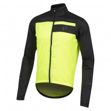 Pearl Izumi Elite Barrier jakke M sort/gul - Medium