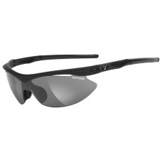 Solbrille Slip, Matt Black, Smoke/Red/Clear